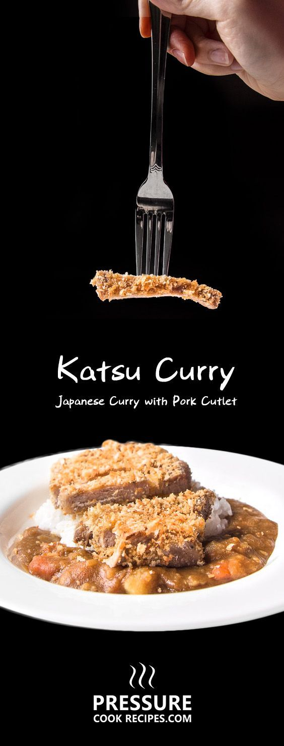 Make this easy Japanese Katsu Curry (Tonkatsu Pork Cutlets). Tender pork chops coated with toasted breadcrumbs, paired with sweet Japanese curry over rice.