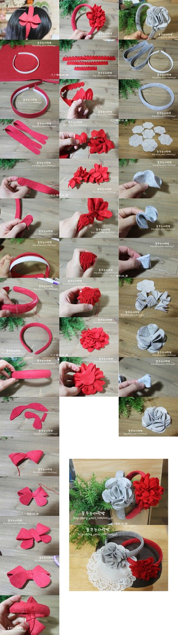 Not DIY weaving the various magical effect models hair bands (the flowers can be made the activities · not necessarily fixed si · made of hair bands can also be made Tousheng oh)
