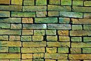 """New artwork for sale! - """" Brick Wall Brick Wall Bricks  by PixBreak Art """" - http://ift.tt/2lomF7U"""