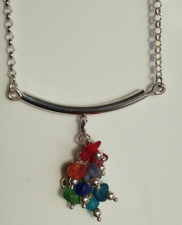 Rainbow tinies Necklace Buy it now on  https://www.facebook.com/groups/beachcrafts/