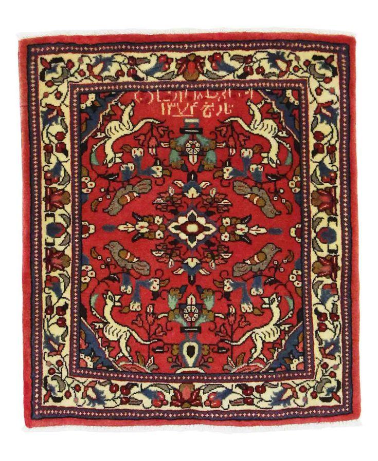 Sarug Handgeknüpft orientalisch Teppich Perser  orient matto Rugs 74 x 67 cm