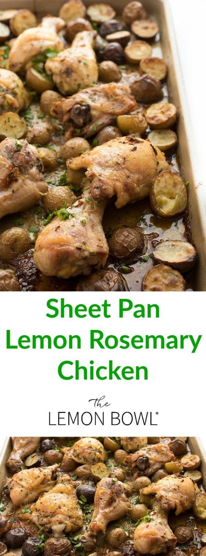 ... Rosemary chicken, Garlic rosemary chicken and Lemon roasted chicken