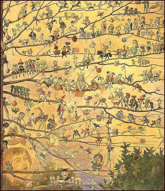"Richard Doyle - ""The Fairy Tree"" | Flickr - Photo Sharing!"
