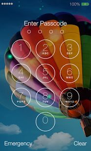 Lock Screen OS9 - Phone 6: miniatura da captura de tela