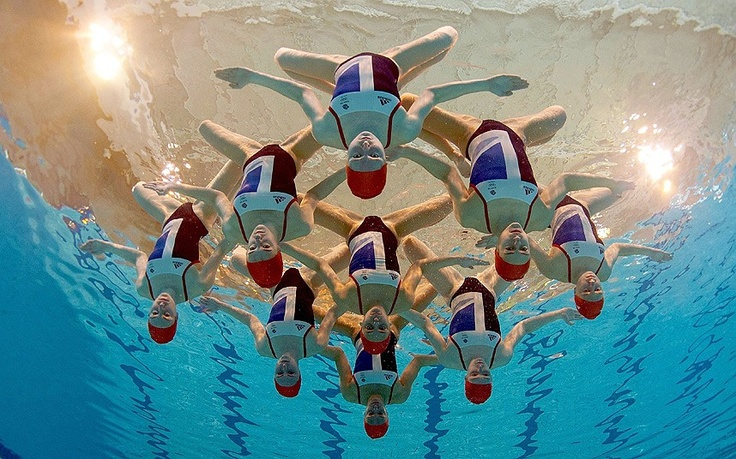 Synchronised swimming - Road to London 2012 Olympics and Paralympics: Images of the week, May 14, 2012