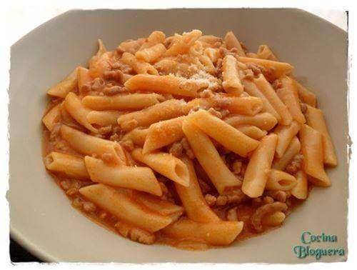 Receta e Macarrones con Carne Olla GM - Hogar Bloguero - Otra receta de pasta que en la Olla GM queda perfecta en poco tiempo!