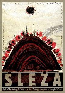 Ślęza, polski plakat turystyczny