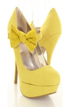 29 best yellow shoes images on Pinterest | Shoes, Yellow boots and ...