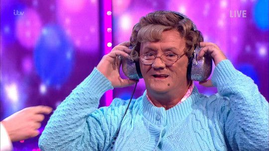 Mrs Brown plays Read My Lips!