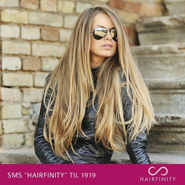 Lækker dame på New Media Mobs content lavet til HairfinityDk