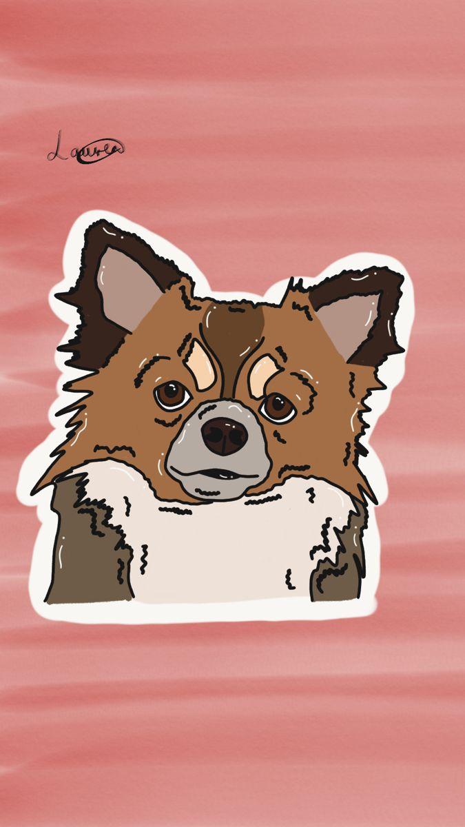 Chihuahua Dog Digital Art Drawing