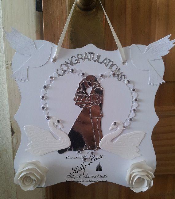 Wedding Wall Plaque - The Supermums Craft Fair