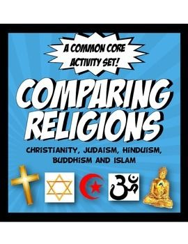 Religion is such an important accpect of the development of a civilzation! The resources in this set were designed to cover the key facts that will help build great discussions and a fundamental understanding of cultural behaviors. This engaging, Common Core activity bundle is loaded with rigor,analysis and fun, including:1.