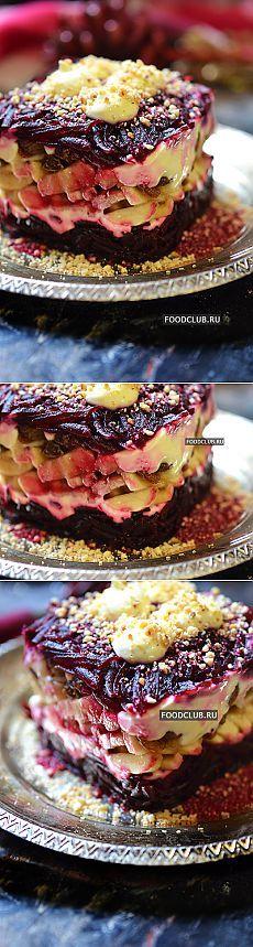 Потрясающий новогодний салат Принчипесса