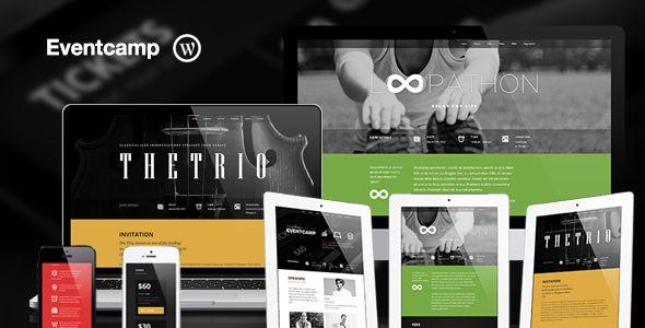 Eventcamp - Responsive One Page Marketing Theme - Marketing Corporate