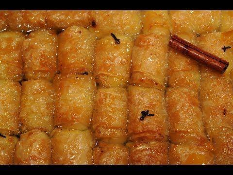 γαλακτομπουρεκάκια της κόλασης (2)-ολοκληρωμένη συνταγή/how to make galactoboureko - YouTube