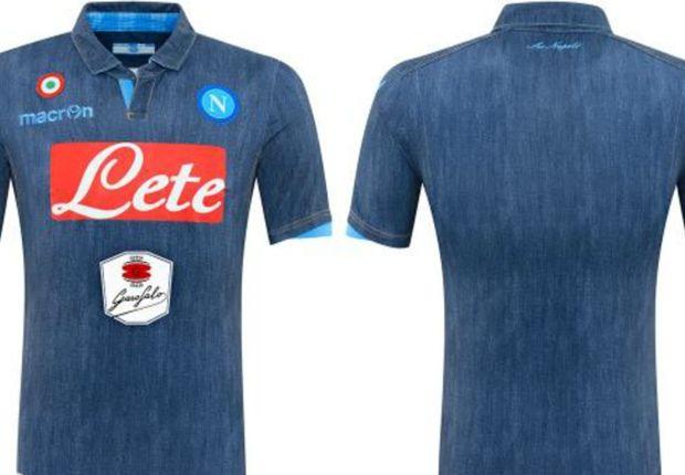 la maglia Denim del Napoli calcio
