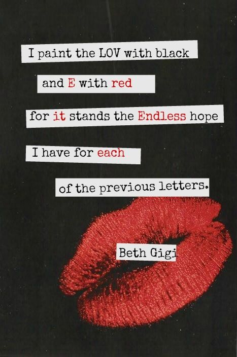 #poetry #prose #wordporn #playingwithwords #words #Love #black #red #lips