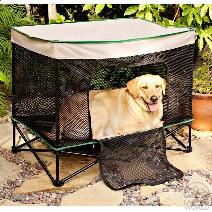 yosemitebob Neat! An on the go crate/tent/bed/shade for the pups! - yosemitebob