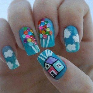 such a cute nail design ♥