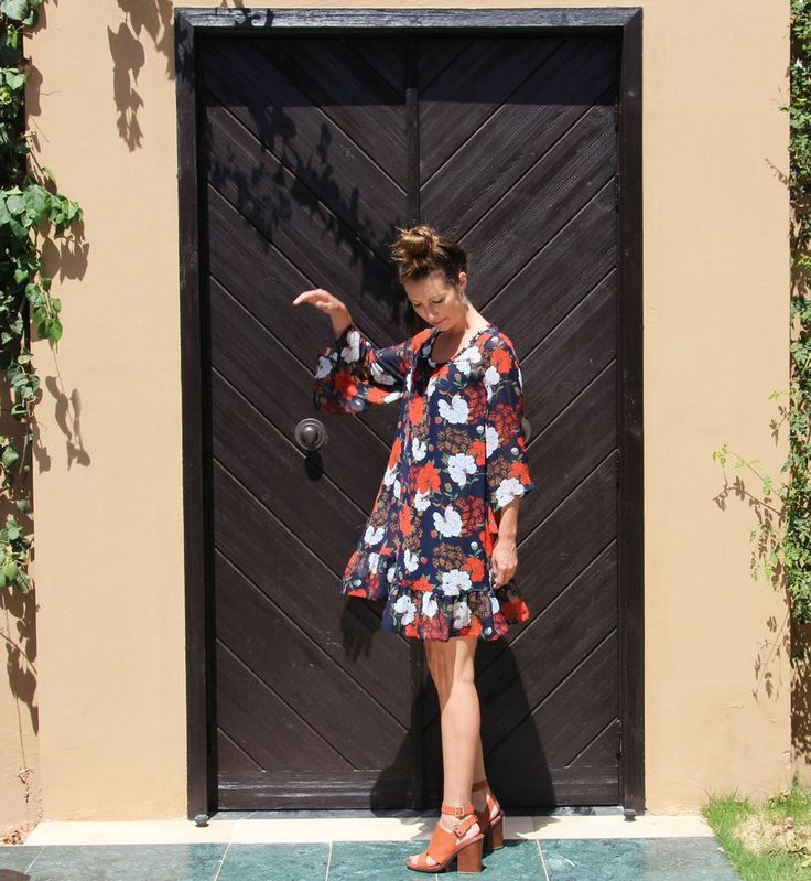 Premee Dress - Red Poppy