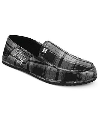 DC Shoes, Villain Slippers - Mens Slippers - Macy's