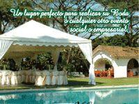 HACIENDA MONTANA. Un lugar ideal para su evento social o empresarial