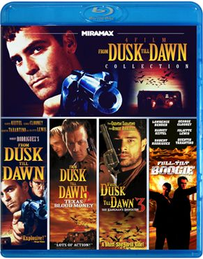 Miramax 'From Dusk to Dawn' Bluray Series (4 Set)