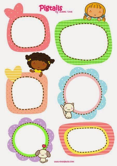 Imprimolandia: Etiquetas infantiles