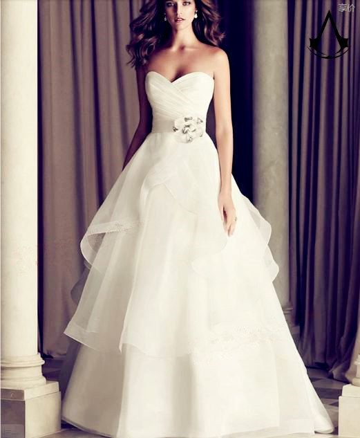 B&V ConcertO wedding gown fastseller No.1 leak par BALANCEVALUE, $148.00