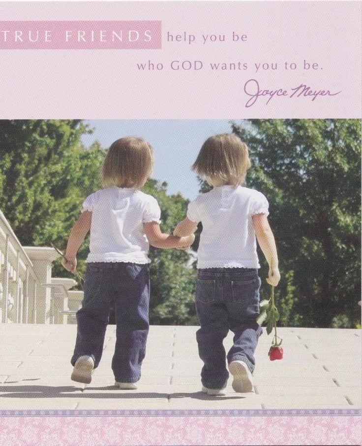 Christian Greeting Card, Friendship, Joyce Meyer #DaySpring #Friendship