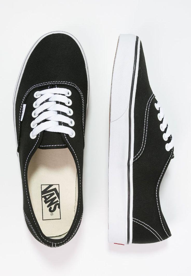 Vans AUTHENTIC - Skateskor - black - Zalando.se
