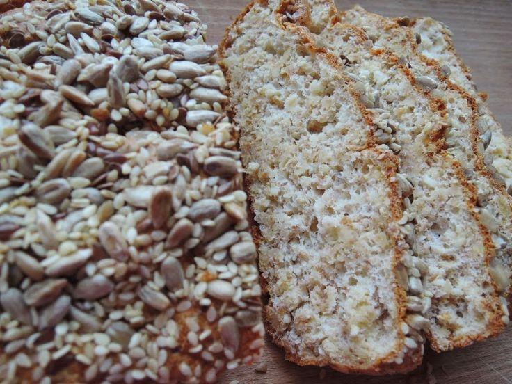 Fitblog. Odchudzanie, przepisy, motywacja.: Wysokobiałkowy niskokaloryczny chleb bez mąki.