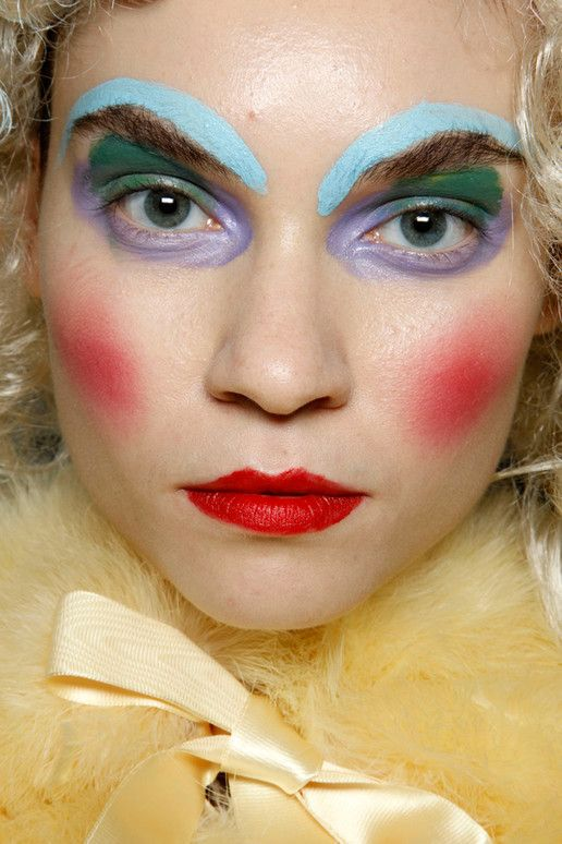 Meadham Kirchhoff Spring Rtw Backstage Beauty