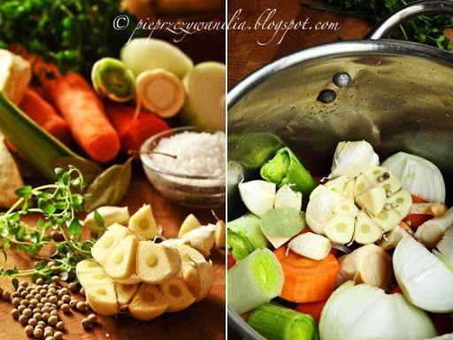 pieprz czy wanilia blog kulinarny: Bulion warzywny wg Gordona Ramsay'a
