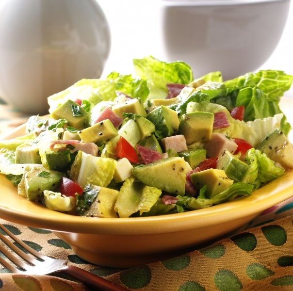 Chilean avocado salad. Easy to make ans SO delicious!