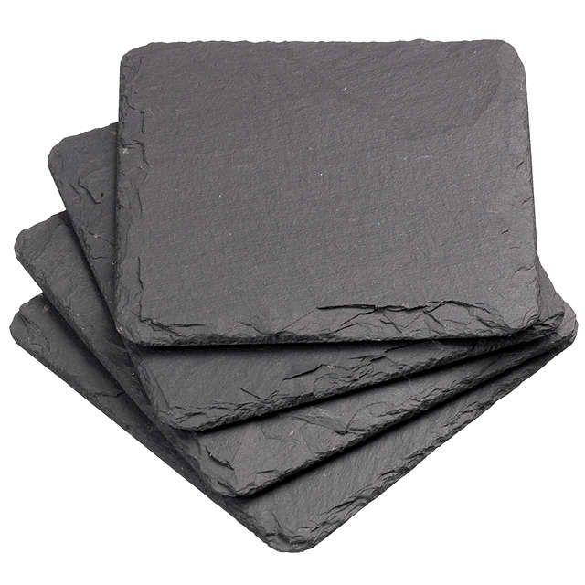 BuyJust Slate Coasters, Set of 4 Online at johnlewis.com