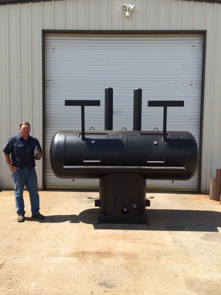 NEW Patio BBQ Pit Smoker Charcoal Grill Cooker For Concession Trailer | Bar    B   Que Grills / Smokers | Pinterest | Grilling, Patios And Grills