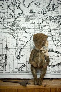 ......Мастерская Стейси......: Медведь тедди Аврора