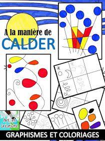 Les enfants de l'école maternelle ont travaillés les graphismes à la manière du peintre Alexander CALDER.                 Dans un premier ...