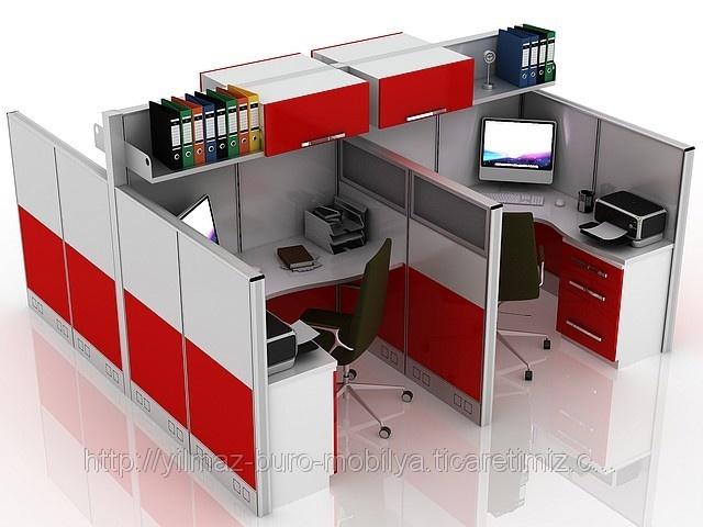Modüler Workstation Masası