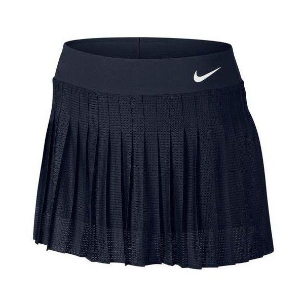 NIKE Women`s Premier Victory Tennis Skort ($70) found on Polyvore
