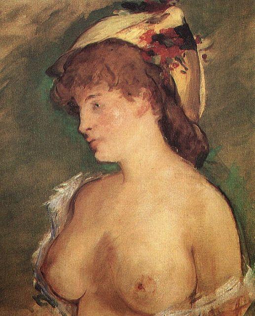 Γυμνόστηθη ξανθιά (1878)