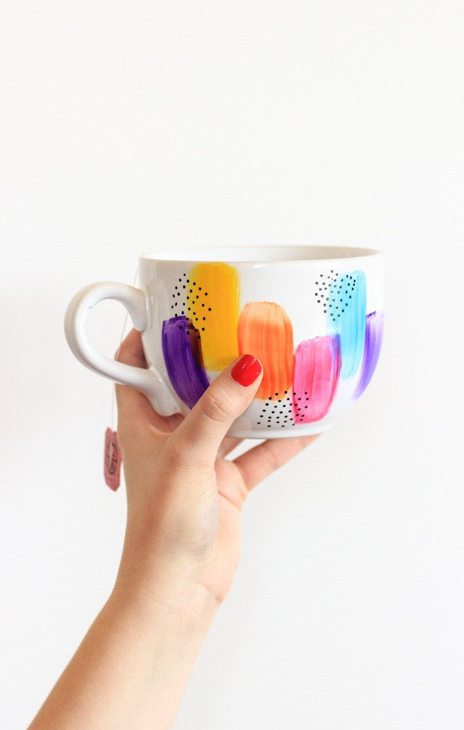 How-T0: Dishwasher Safe Decorated Mugs