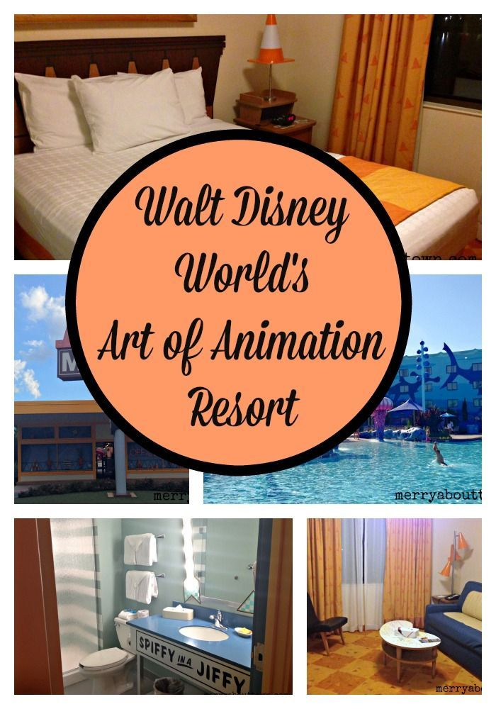 Visiting Walt Disney World's Art of Animation Resort.