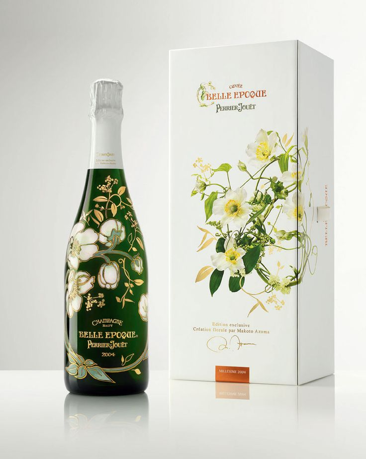 Perrier-Jouët Belle Epoque 2004 Champagne Florale limited edition by Japanese artist Azuma Makoto