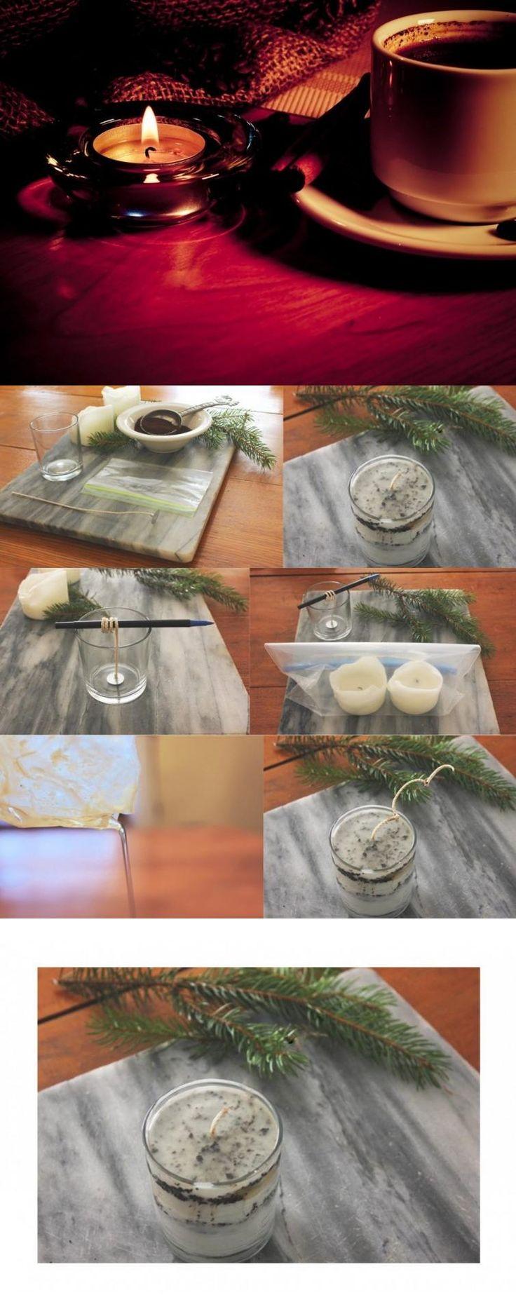 Aromatiza tu hogar reutilizando velas viejas y posos de café