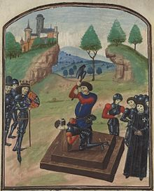 Edmund Beaufort (1438? – 6 May 1471), styled 4th Duke of Somerset by Lancastrians, was an English nobleman, and a military commander during the Wars of the Roses, in which he supported King Henry VI.