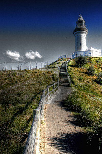Cape Byron Light	Byron Bay 		New South Wales 	#Australia 	-28.638525, 153.636436