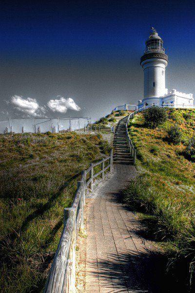 Cape Byron LightByron Bay New South Wales #Australia -28.638525, 153.636436